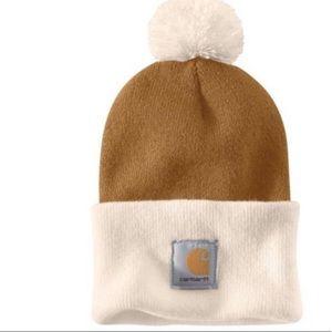 🆕Authentic Carhartt Watch Hat Pom Pom